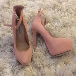 Shoes - Blush colored heels